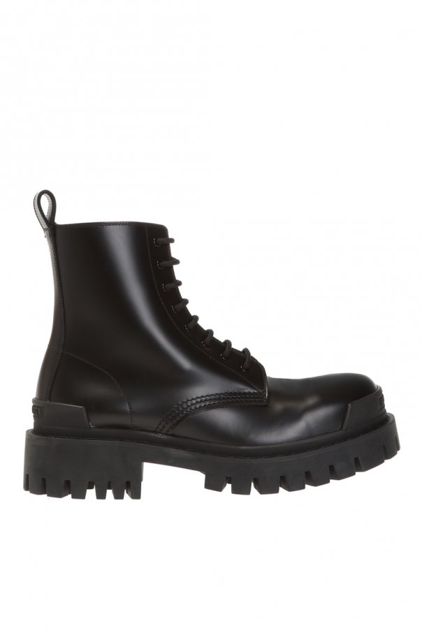 Balenciaga 'Strike' leather boots