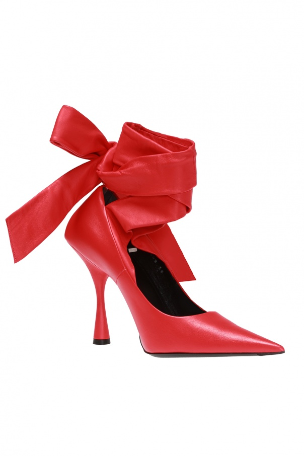 Pumps with tie fastening od Balenciaga