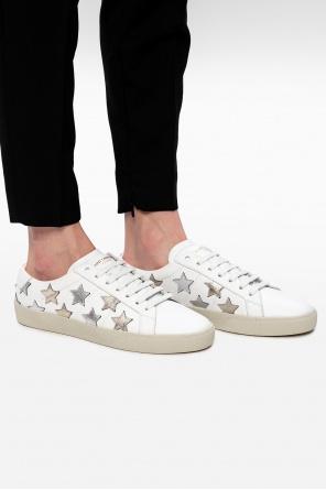Leather sneakers od Saint Laurent