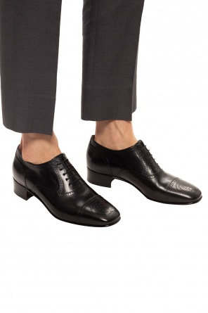 Leather derby shoes od Gucci