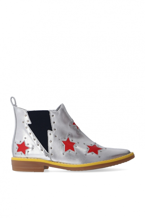 Stella McCartney Kids Patterned ankle boots