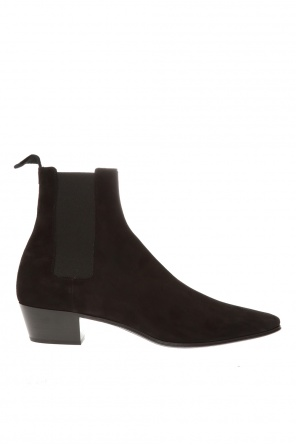 Heeled ankle boots od Saint Laurent