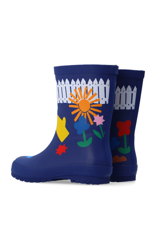 Stella McCartney Kids Printed rain boots