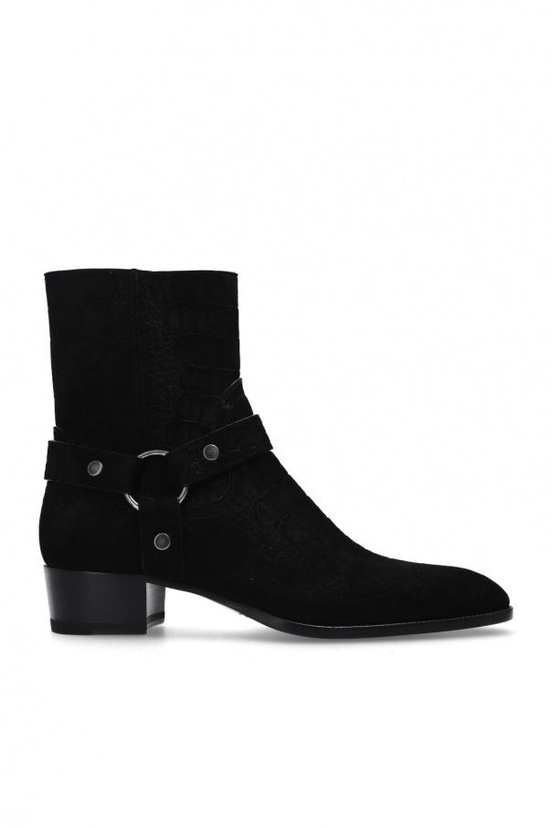 Saint Laurent 'Wyatt' heeled ankle boots