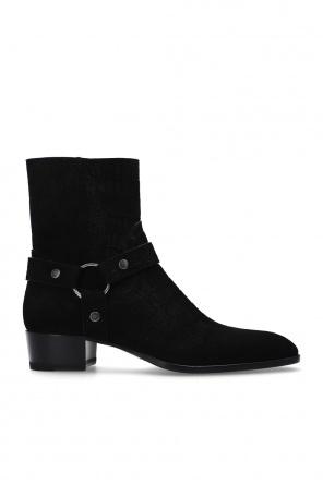 'wyatt' heeled ankle boots od Saint Laurent