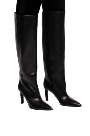 'kate' heeled knee-length boots od Saint Laurent