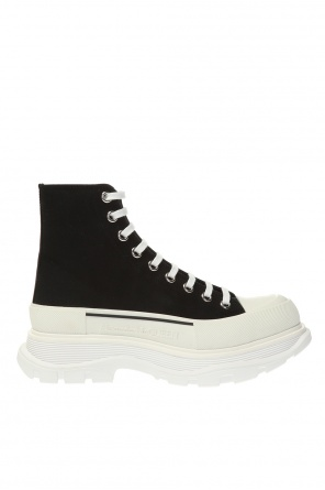 Logo high-top sneakers od Alexander McQueen
