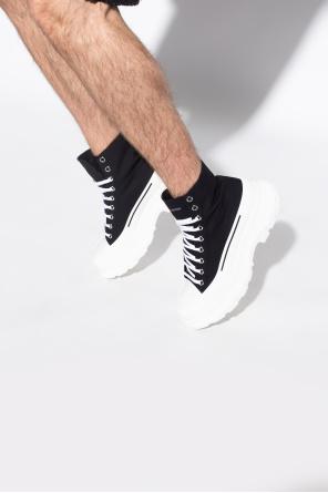 High-top platform sneakers od Alexander McQueen