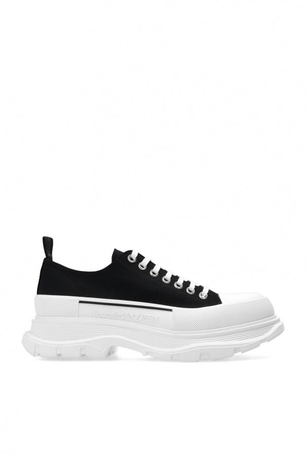 Alexander McQueen Lace-up platform shoes