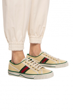 'tennis' sneakers with 'web' stripe od Gucci