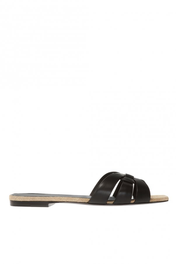 Saint Laurent 'Tribute' leather slides