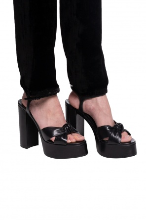 'bianca' heeled sandals od Saint Laurent