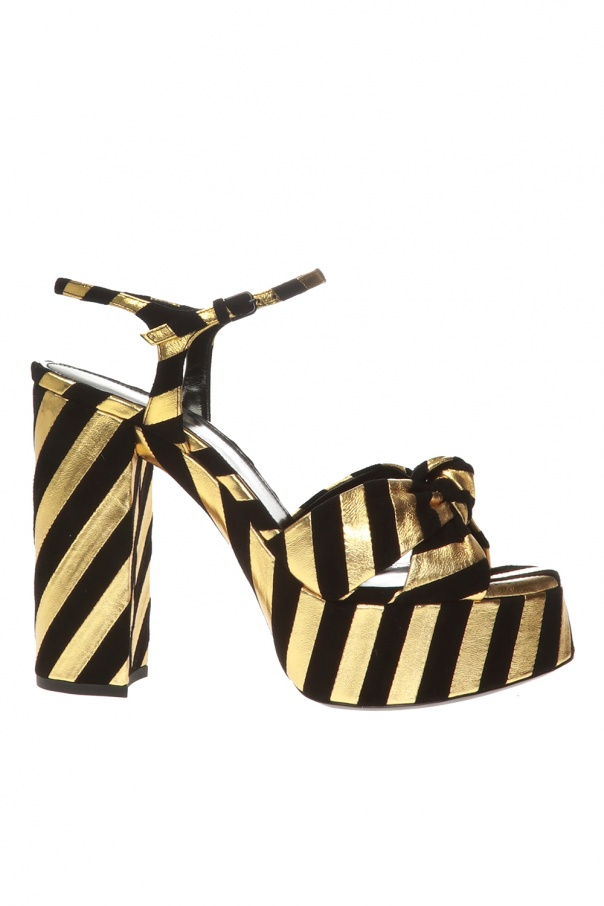 Saint Laurent 'Bianca' platform sandals