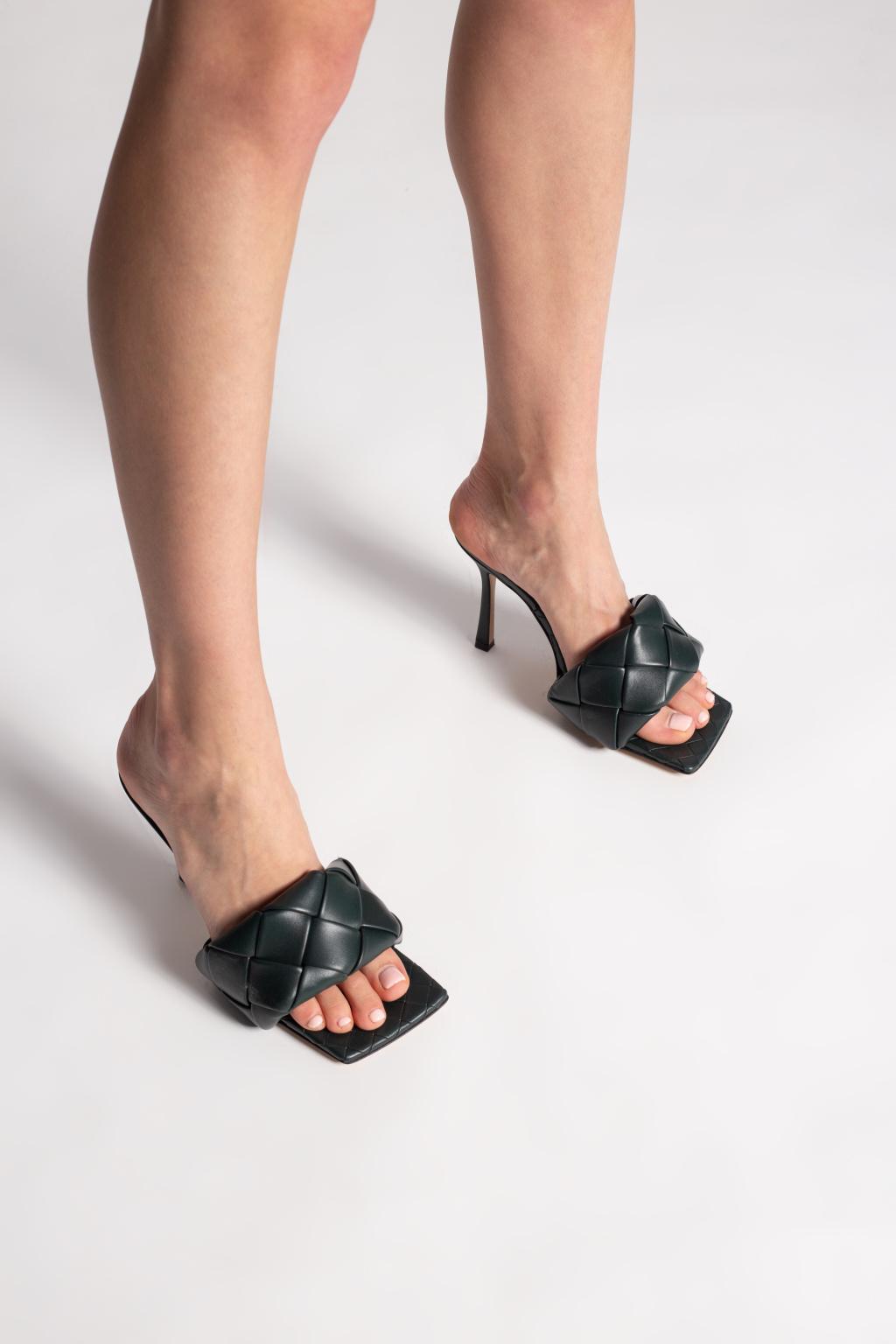 Bottega Veneta 'Lido' heeled mules