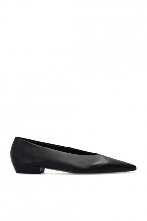 Leather ballet flats od Bottega Veneta
