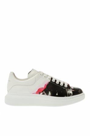 Platform sneakers with logo od Alexander McQueen
