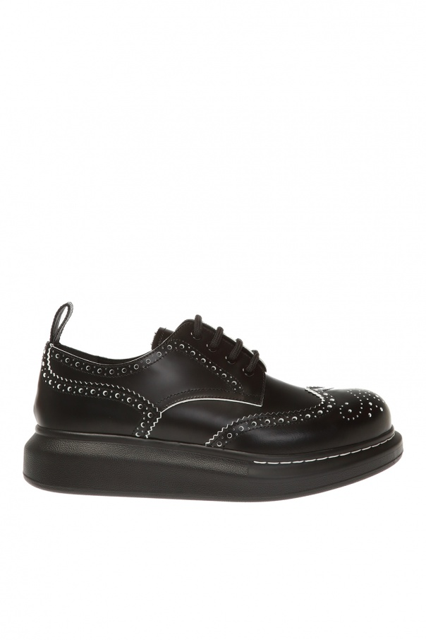 Alexander McQueen Sneakers with perforations