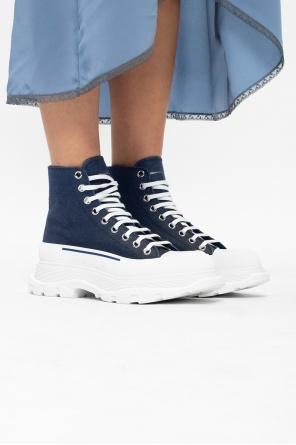 The tread slick高帮运动鞋 od Alexander McQueen