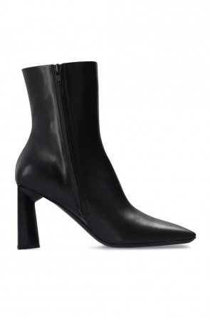'moon bootie' heeled ankle boots od Balenciaga