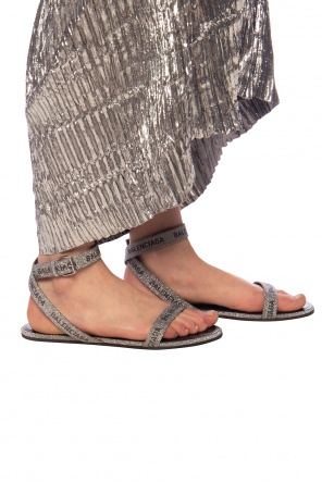 Glitter trim sandals od Balenciaga