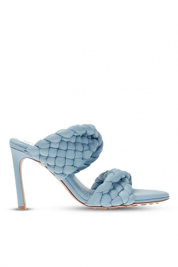 Bottega Veneta Heeled mules with 'Intrecciato' weave