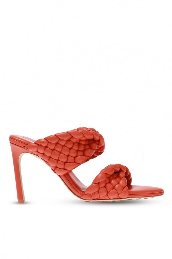 Bottega Veneta 'Bv Curve' heeled mules