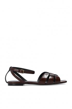 'tribute' leather sandals od Saint Laurent