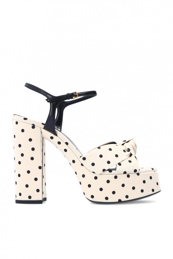 Saint Laurent 'Bianca' heeled sandals