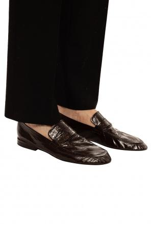 Leather moccasins od Bottega Veneta