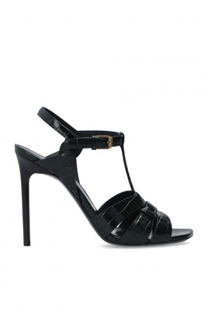 'tribute' heeled sandals od Saint Laurent