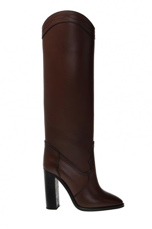 Saint Laurent 'Kate' heeled boots