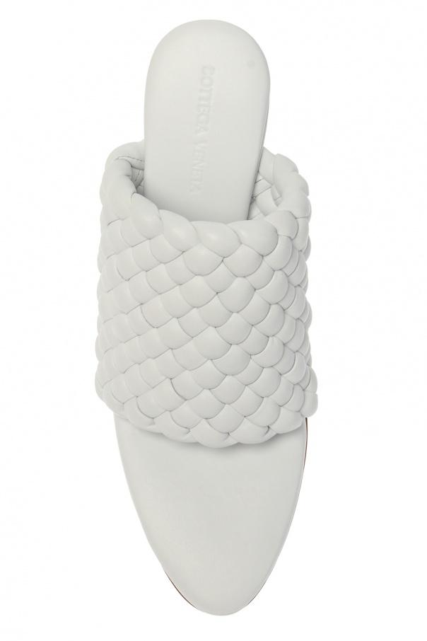 'bv curve' heeled mules od Bottega Veneta