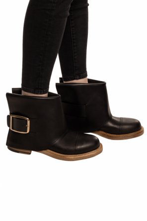 Buckled ankle boots od Alexander McQueen