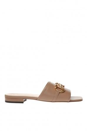 Leather slides od Gucci