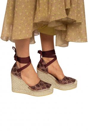 Wedge sandals od Gucci