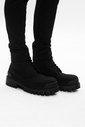 'strike' lace-up ankle boots od Balenciaga