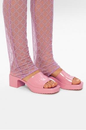 Rubber slide sandals od Gucci