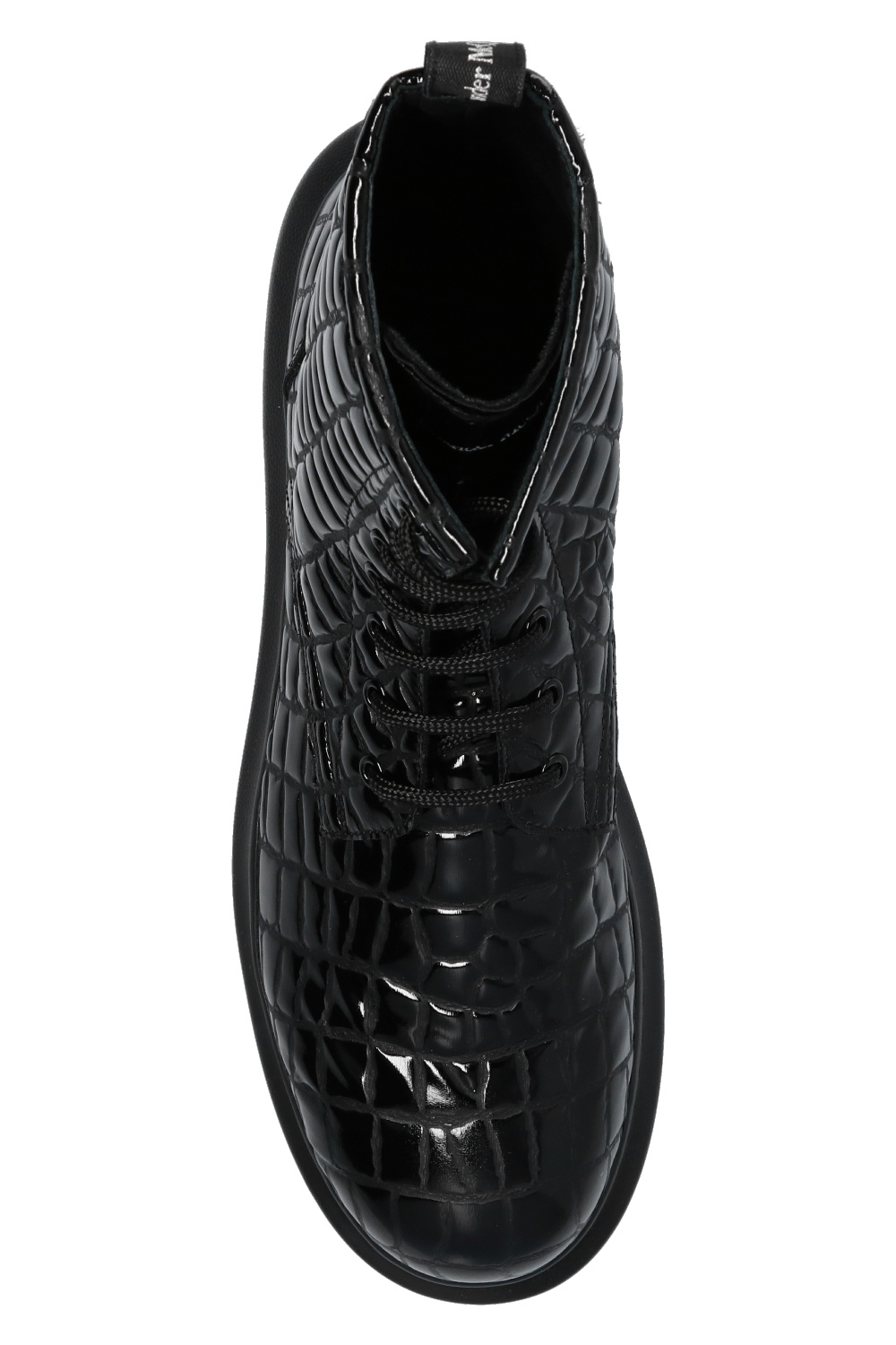 Alexander McQueen Ankle boots with logo