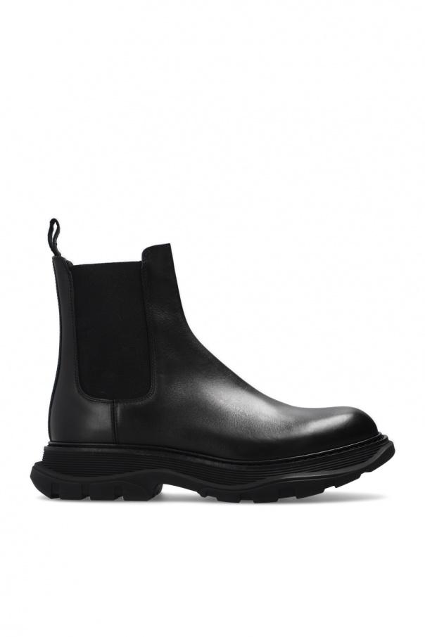 Alexander McQueen Flagship sole Chelsea boots