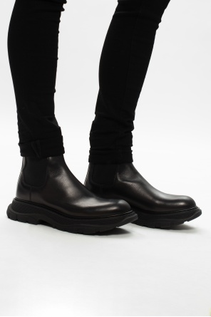Flagship sole chelsea boots od Alexander McQueen