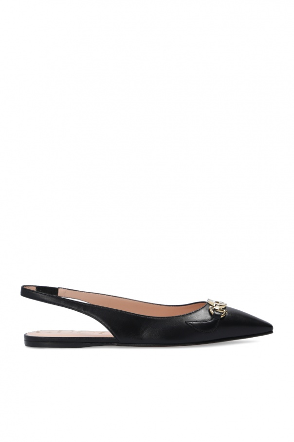 Gucci Ballet flats with open heels
