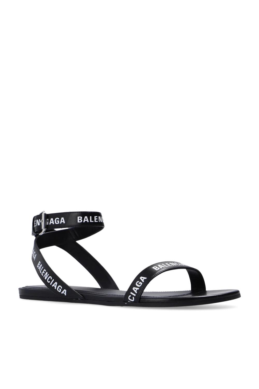 Balenciaga Sandals with logo