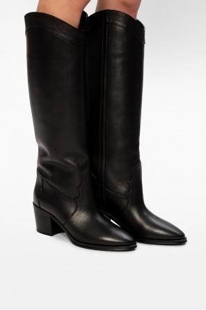 'kate' heeled boots od Saint Laurent
