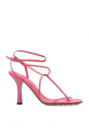 'bv line' heeled sandals od Bottega Veneta