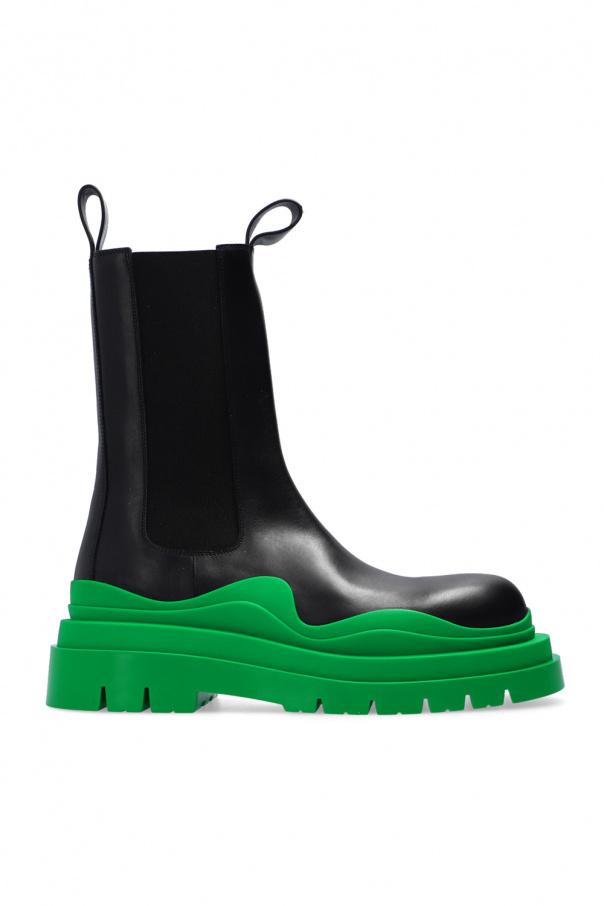 Bottega Veneta 皮质高帮鞋