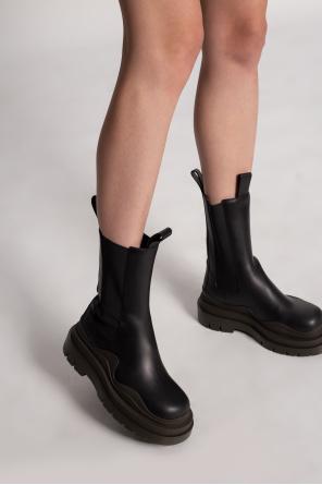 'tire' platform chelsea boots od Bottega Veneta