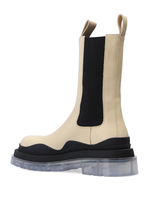 Bottega Veneta 'BV Tire' platform Chelsea boots