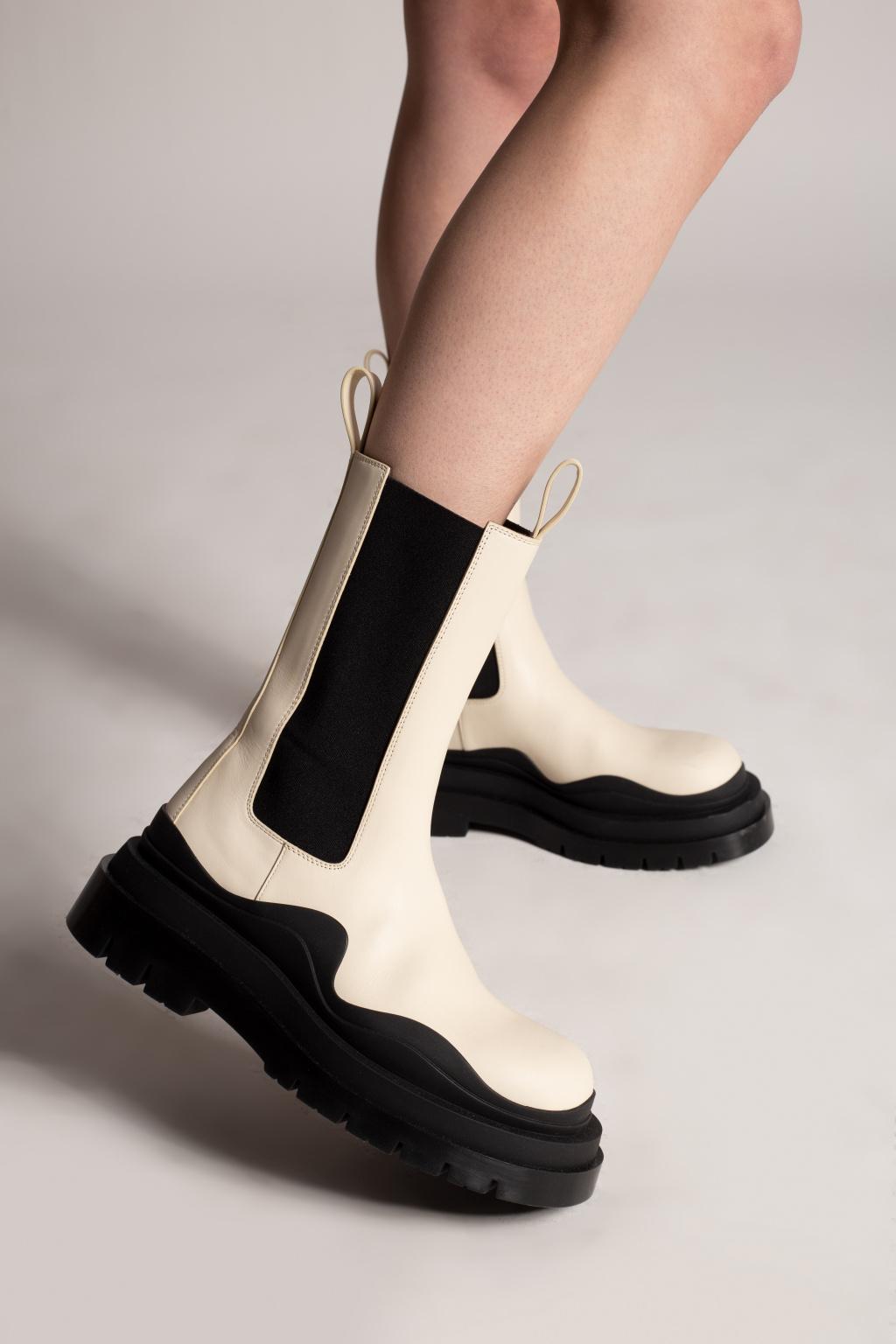 Bottega Veneta 'The Tire' platform Chelsea boots