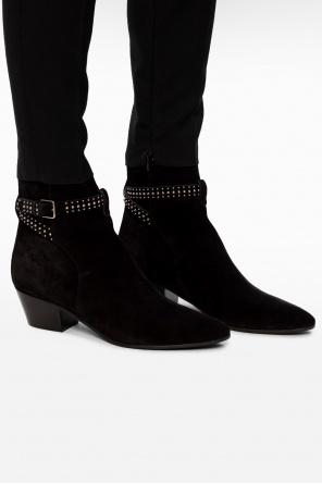 'jodhpur' heeled ankle boots od Saint Laurent
