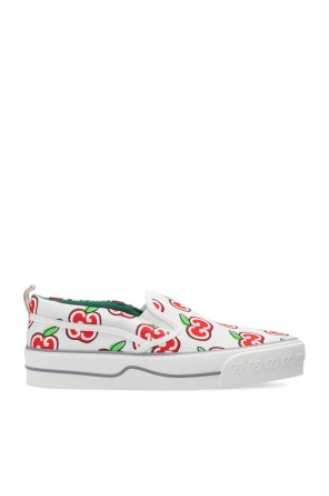 Patterned slip-on sneakers od Gucci